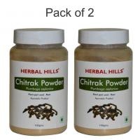 Herbal Hills Chitrak Root Powder - 100 gms - Pack of 2